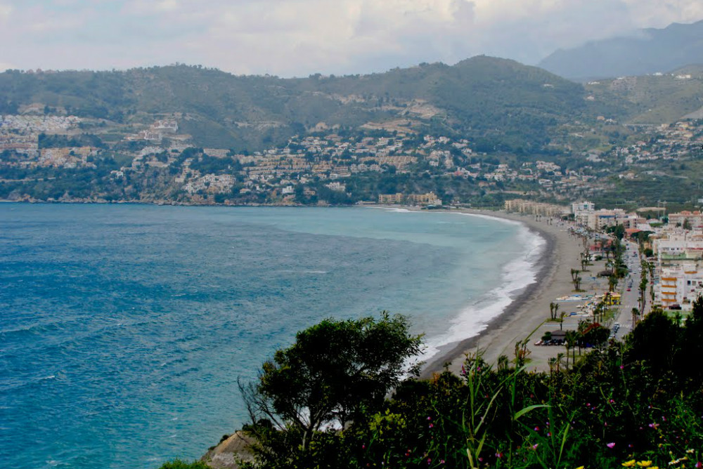 La Herradura beach in Granada