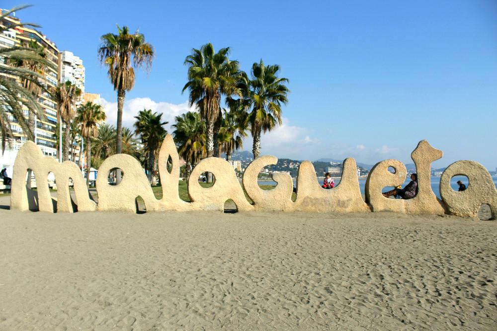 Strand von La Malagueta, Malaga