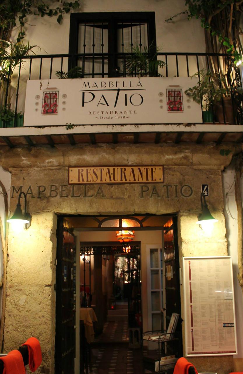 Donde comer en Marbella: Restaurante El Patio Marbella