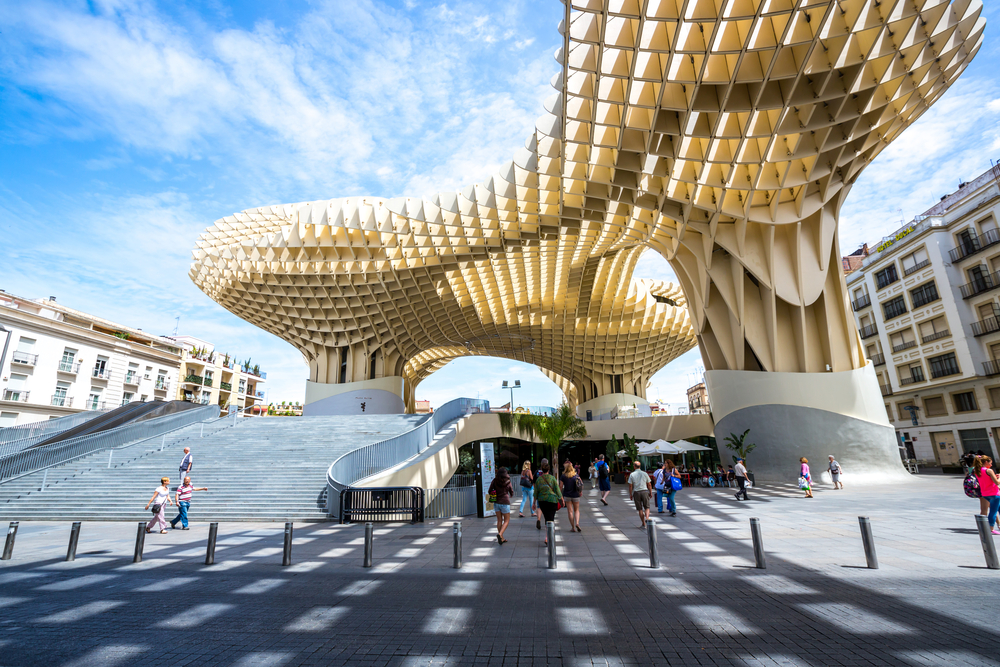 Metropol Parasol in Sevilla - Ontdek Sevilla in twee dagen