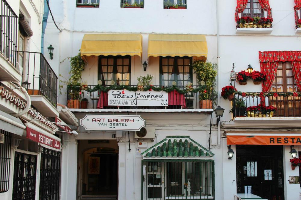 Donde comer en Marbella: Restaurante Paco Jiménez