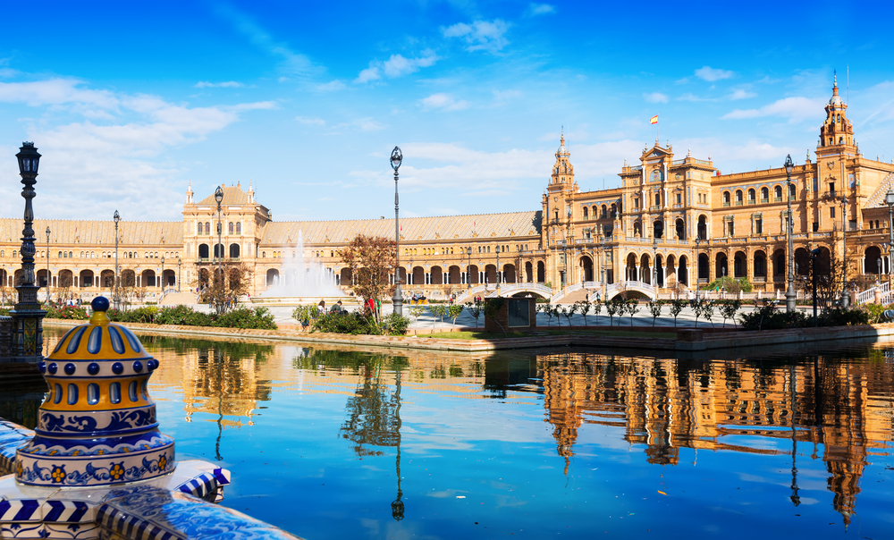 Plaza de España van Sevilla
