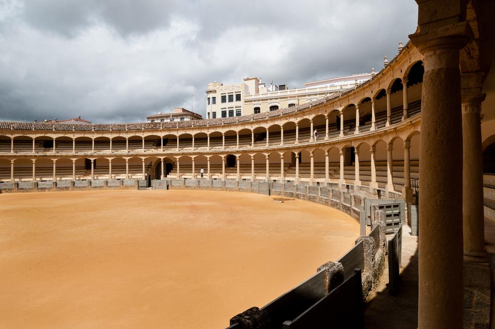 Plaza de toros in Ronda - mooiste arena's voor stierengevechten in Andalusië