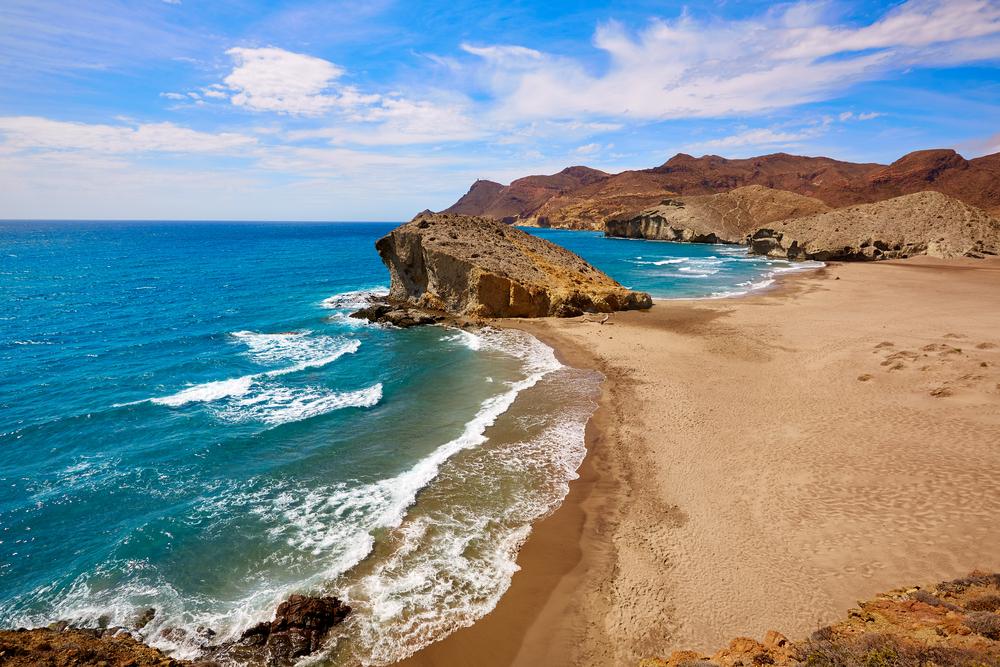 Strand van Mónsul, de beste stranden in Almeria