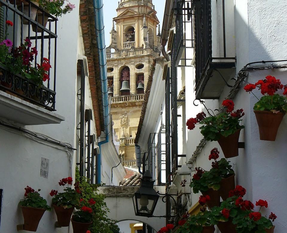 Itinéraire culturel de Cordue: Calleja de las Flores