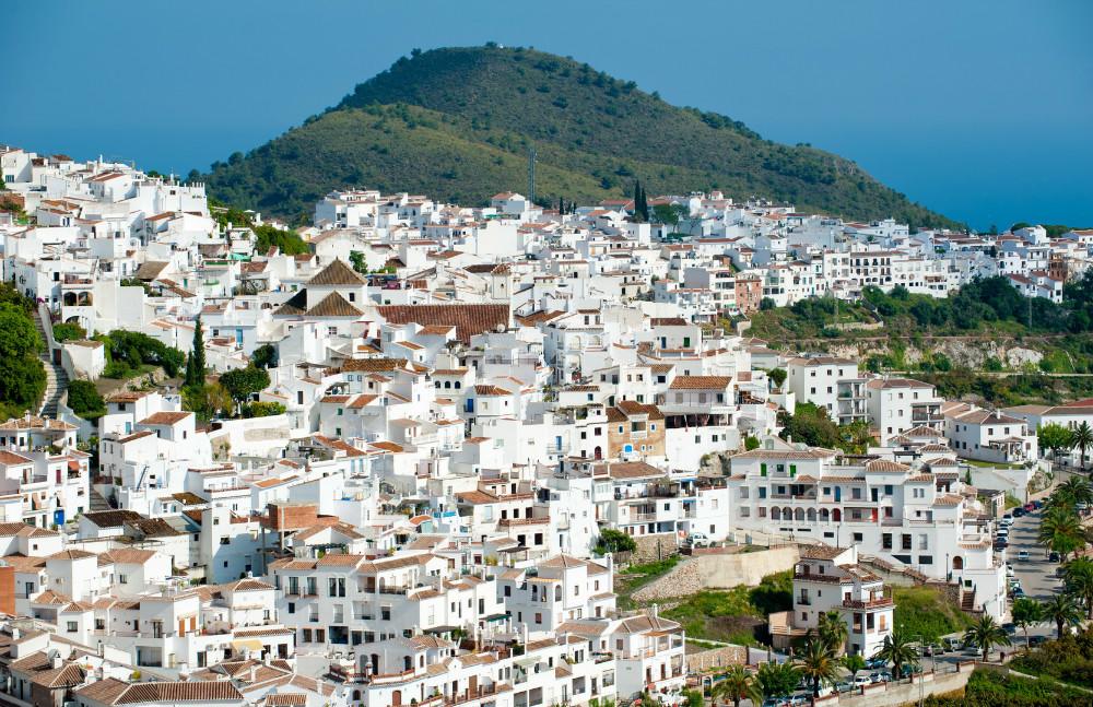 El Fuerte hill behind Frigiliana