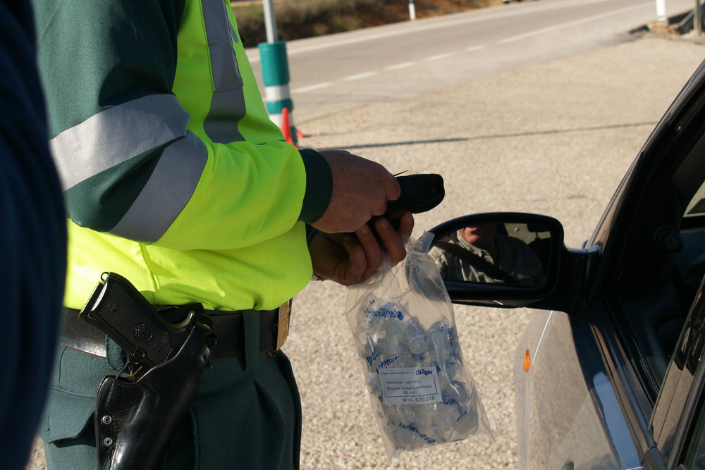 Andalucia by car: Guardia civil and breath-testing