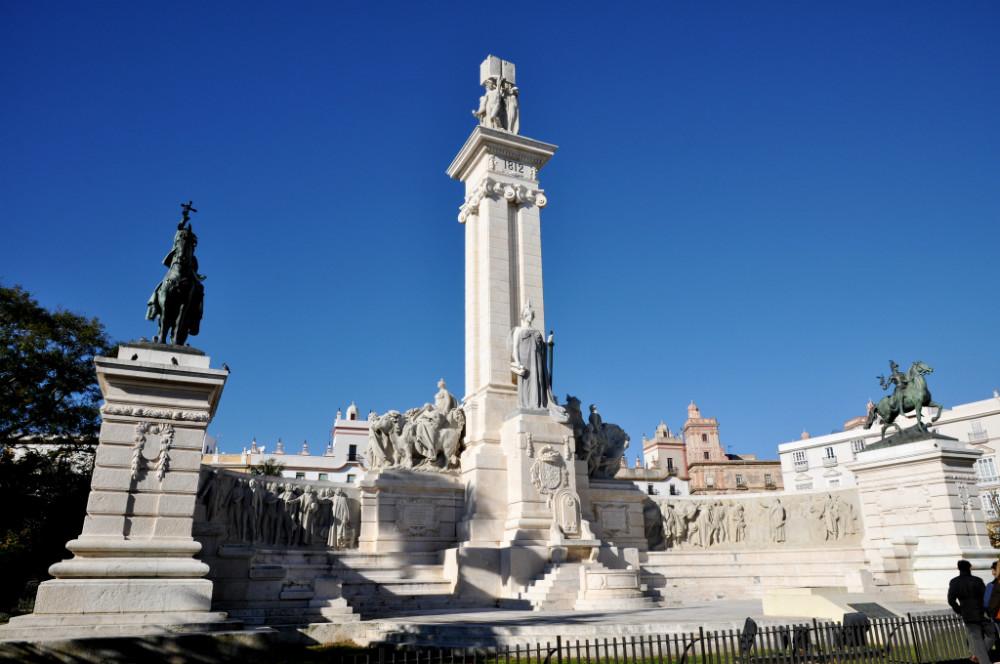 Cádiz en un día: Monumento a la Constitución de 1812