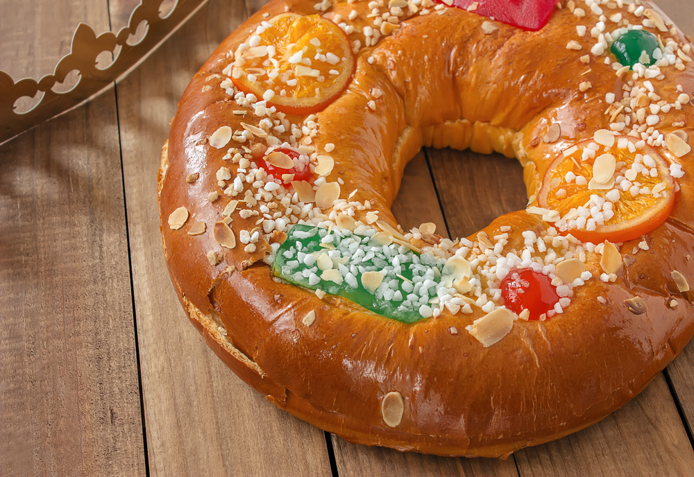 Noël en Andalousie: Roscon de Reyes