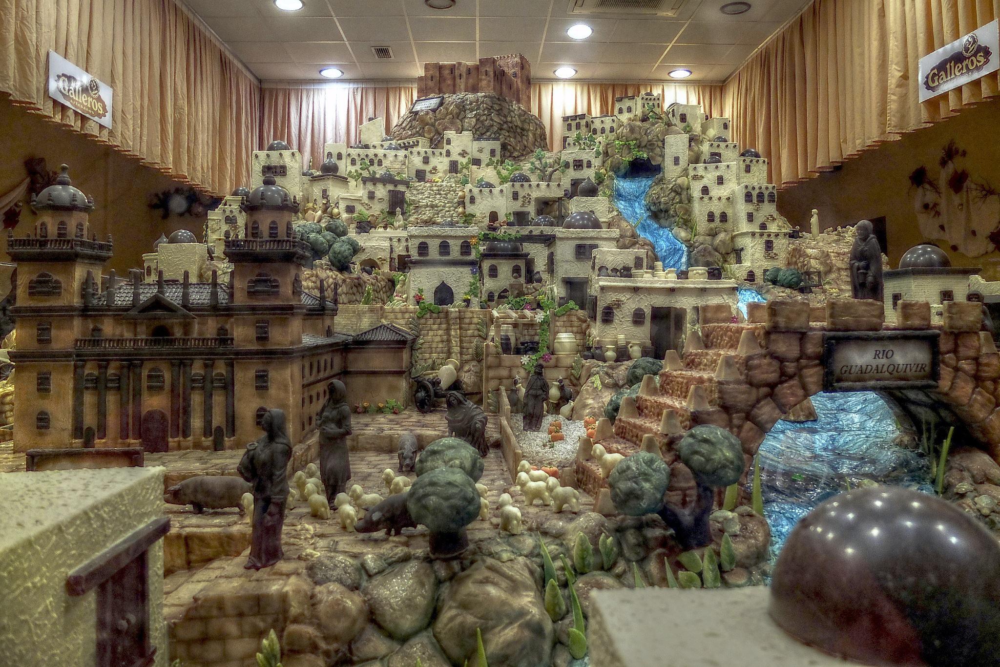 Noël en Andalousie: Scène de nativité à Rute