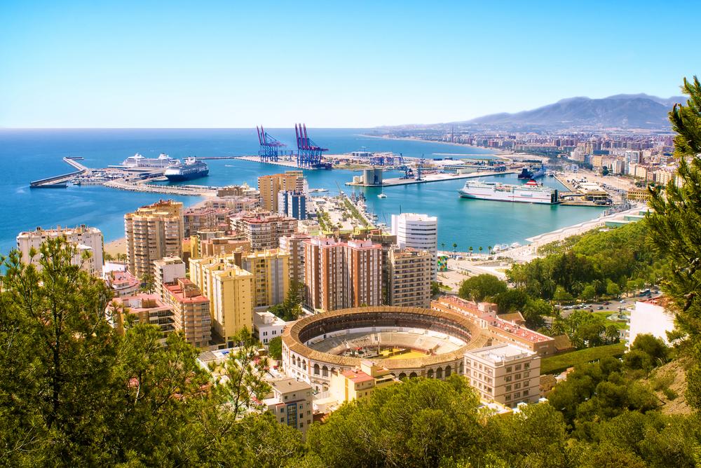 Free things to see in Malaga: Mirador de Gibralfaro