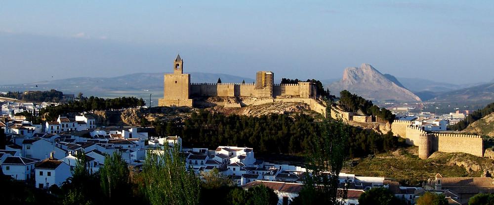 Die Alcazaba von Antequera