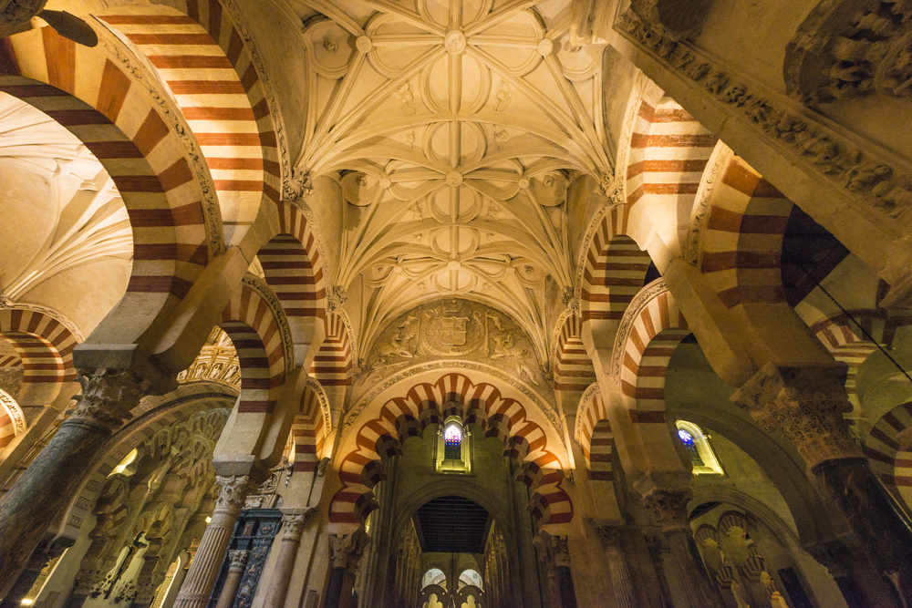 Catholic part in the Mosque-Cathedral of Cordoba