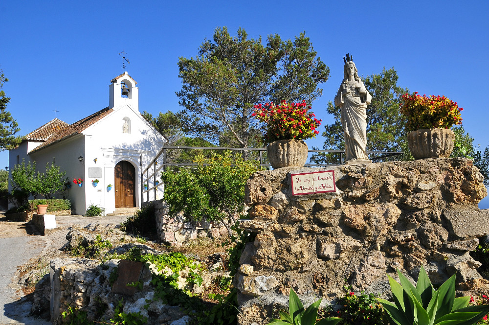 Virgen de la Peña, Sehenswertes in Mijas