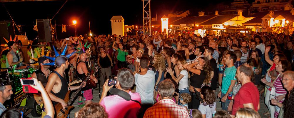 Dancing until dawn in Frigiliana