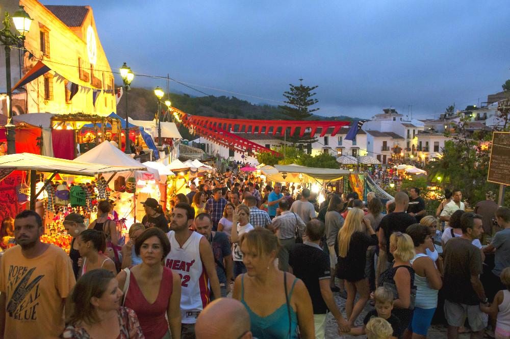 El Mercado de las Tres Culturas en Frigiliana