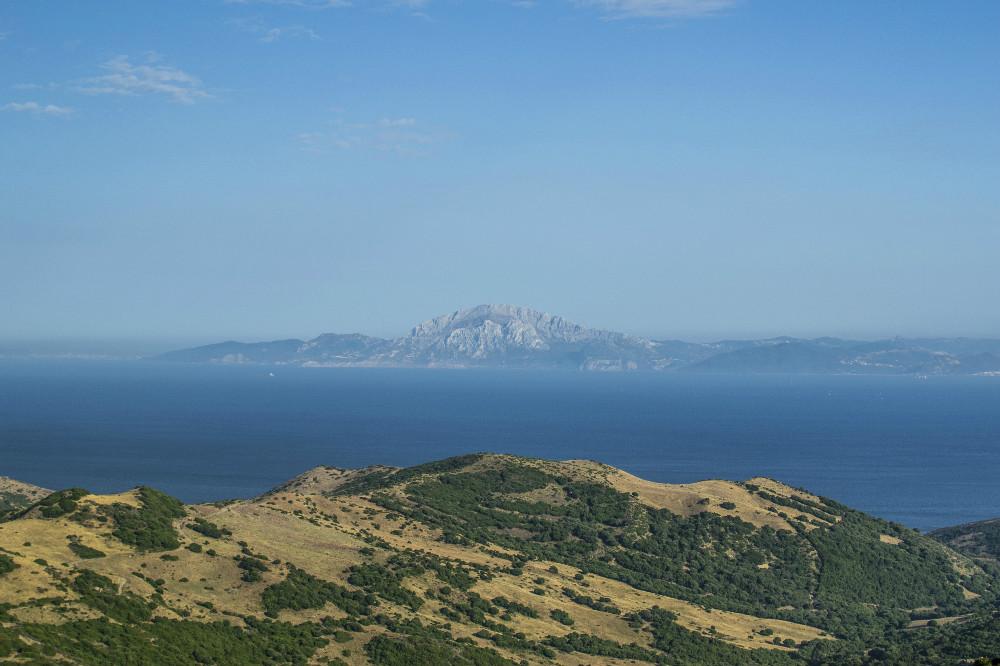 Het panoramische uitzicht vanaf Mirador Estrecho