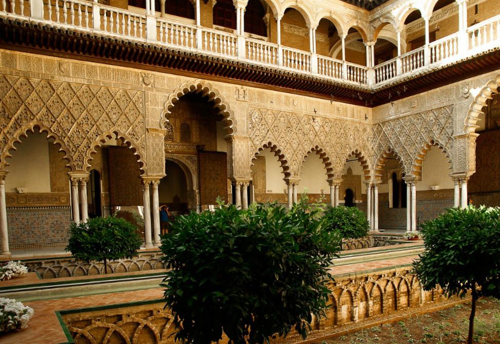 Real Alcázar von Sevilla