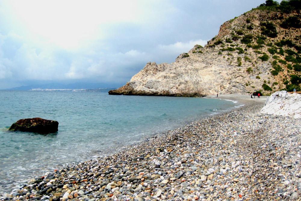 Der Strand von Cantarriján