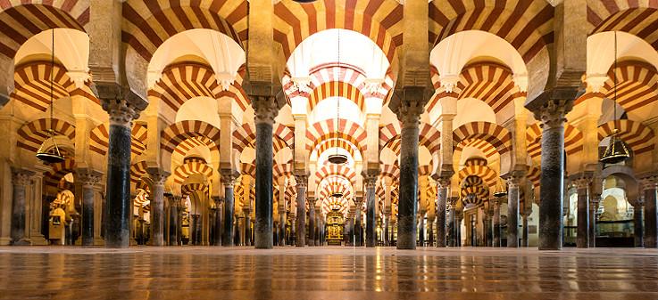 De mezquita van cordoba andalusi spanje - Mezquita de cordoba de noche ...