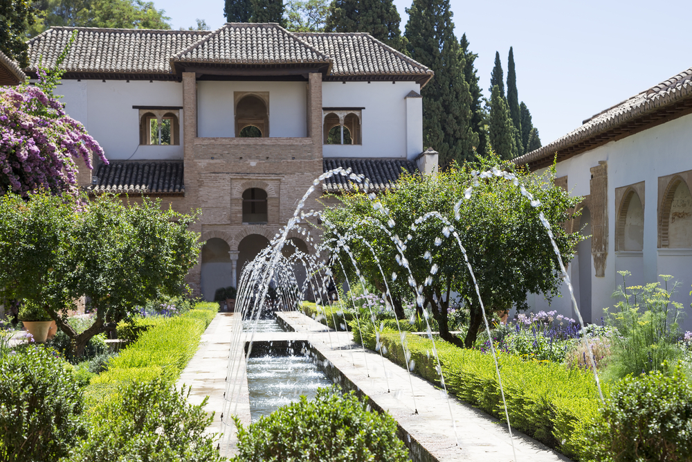 gardens of the alhambra - Jardin De L Alhambra