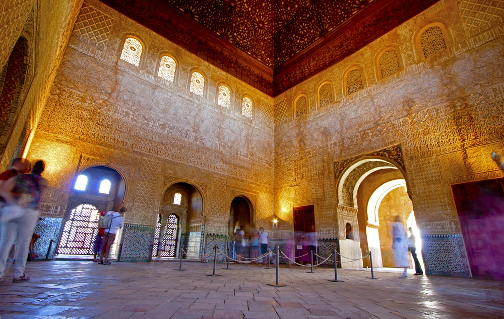 Interior of the Nasrid Palaces of the Alhambra