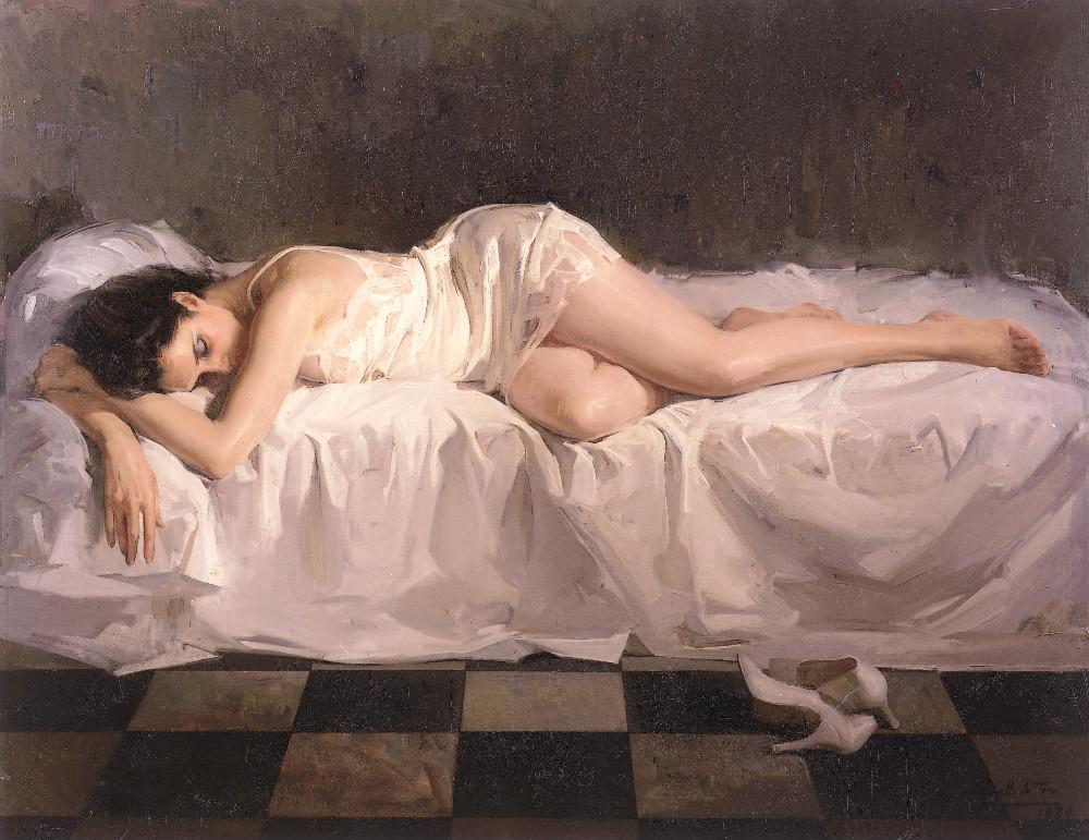 Sumida en el sueño, museum revello de toro