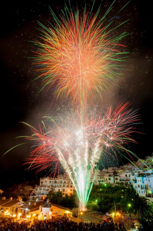Het festival 3 culturas in Frigiliana