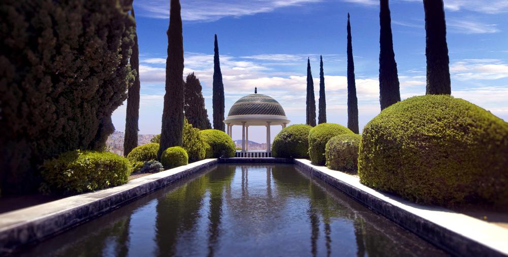 Historischer-Botanischer Garten La Concepción in Malaga