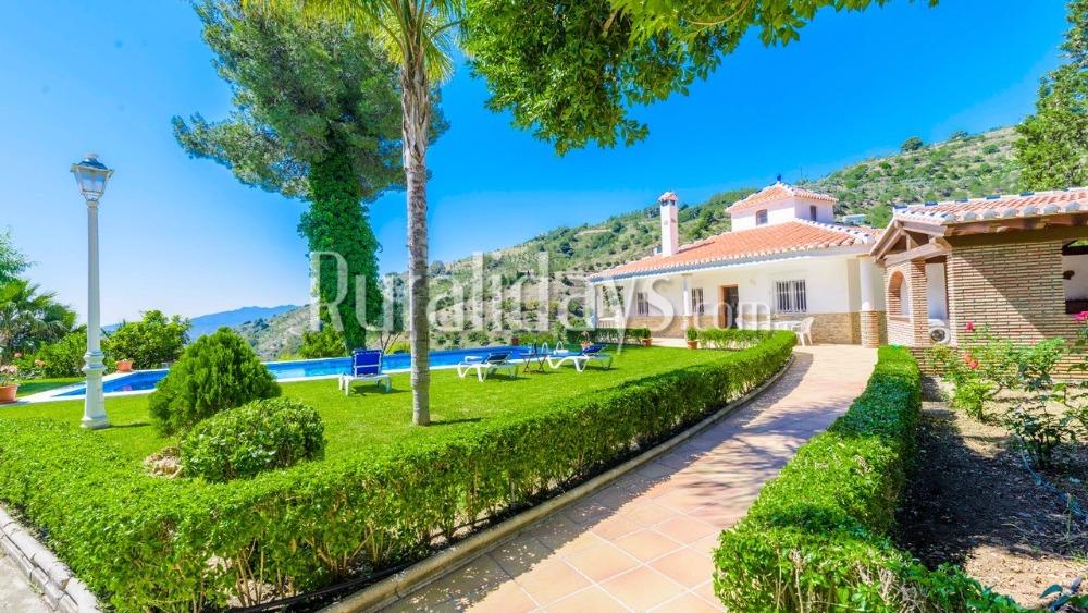 Villa con increíbles vistas (Alozaina, Málaga)