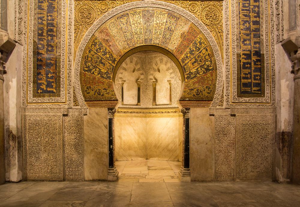 Mihrab van de Moskee-Kathedraal van Cordoba