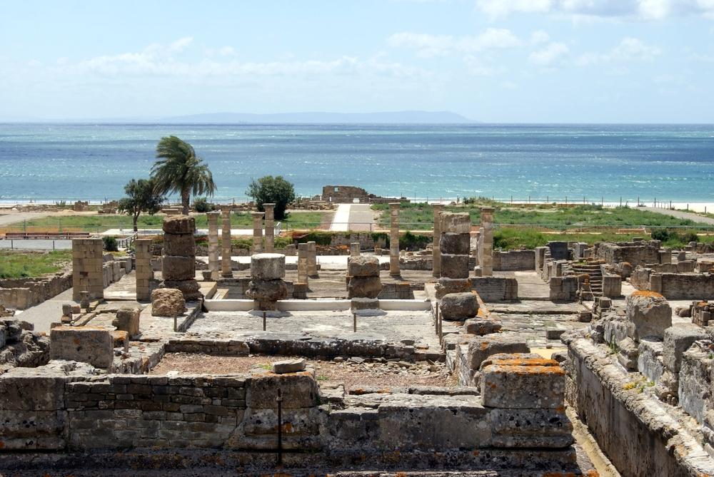 Die Ruinestadt von Baelo Claudia in Tarifa
