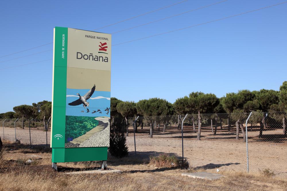 Doñana entrance