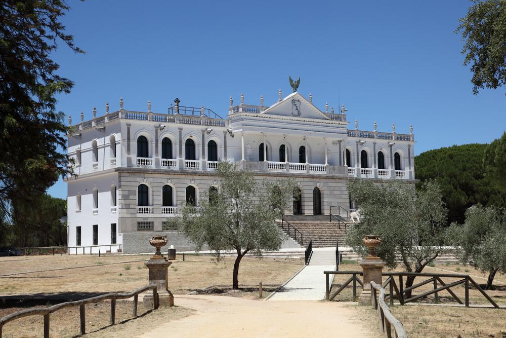 El Acebrón palace in Doñana