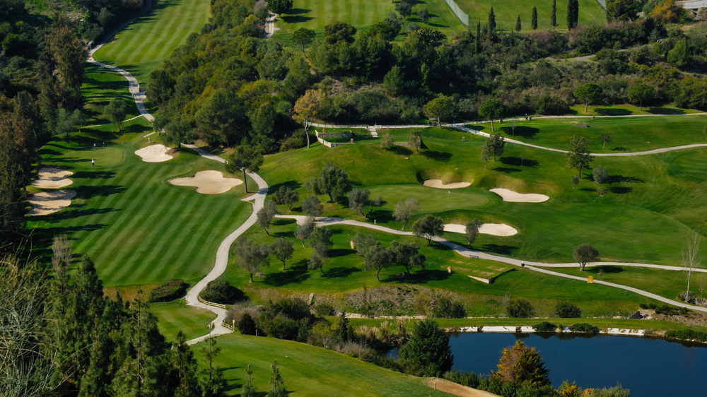 Golf courts in Marbella