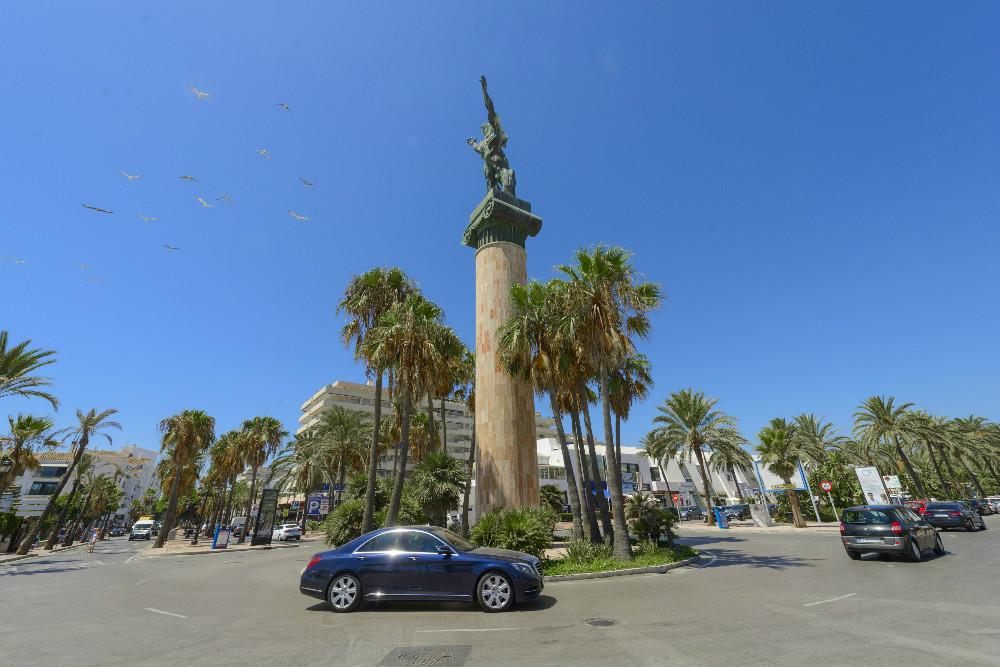 Die Kreisel von Nueva Andalucía
