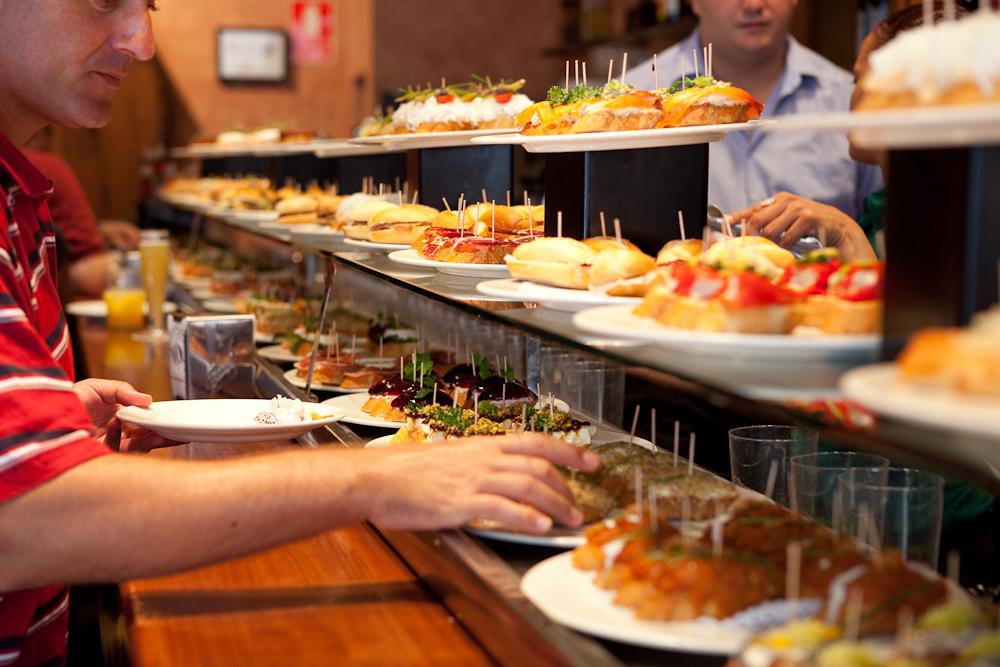 Manger tapas en Andalousie
