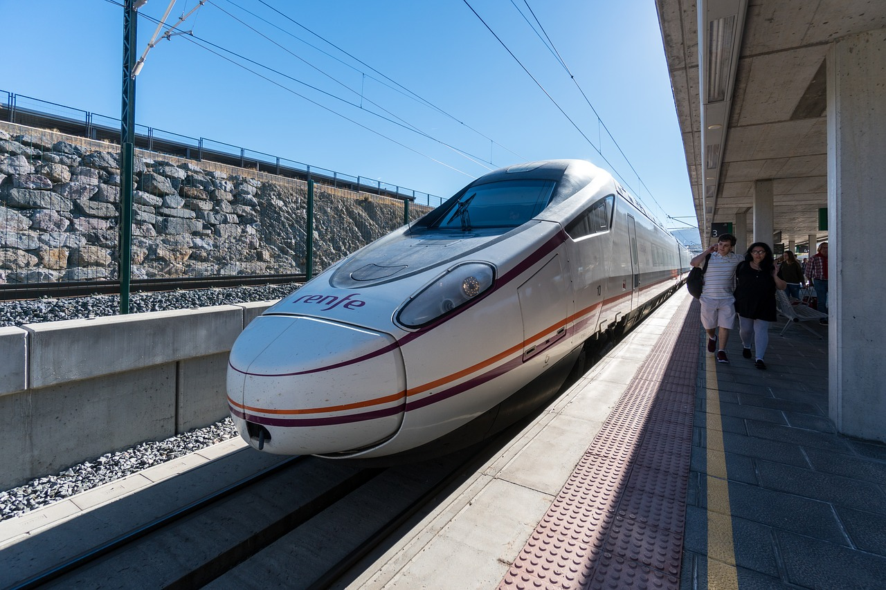 TGE RENFE en Andalousie, Espagne