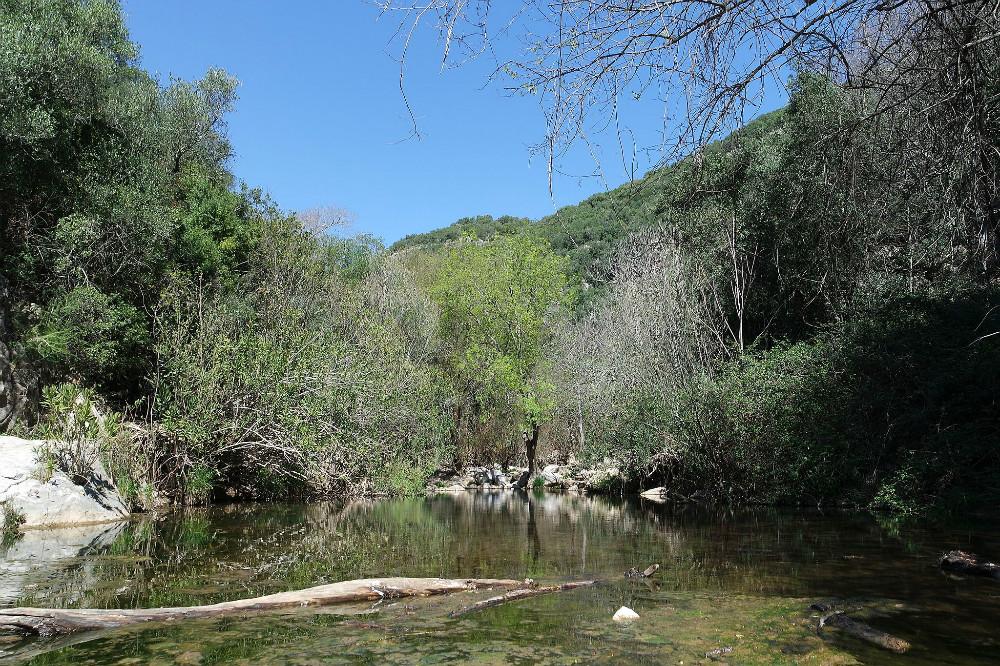 Hornachuelos natuurpark in Cordoba