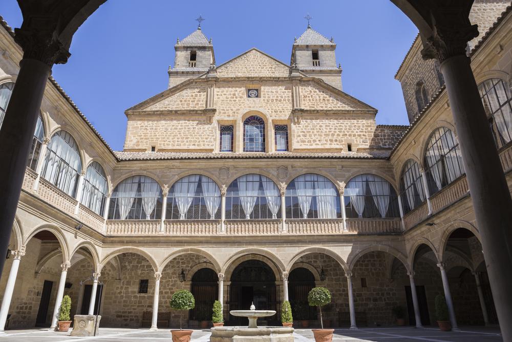 Hospital de Santiago, en Úbeda, Jaén