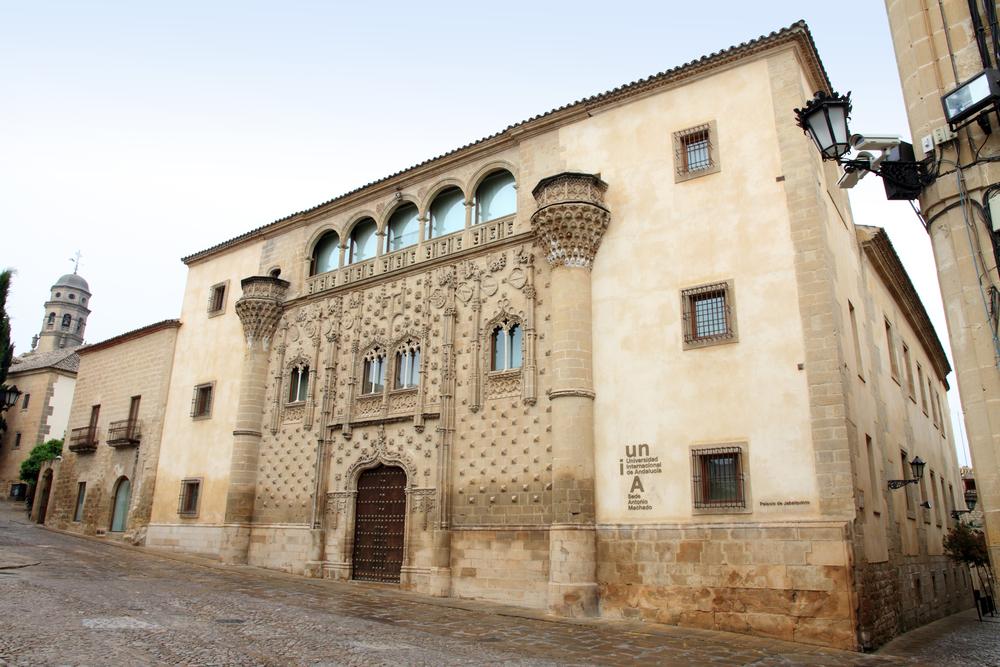 Jabalquinto Palace in Baeza, Jaen