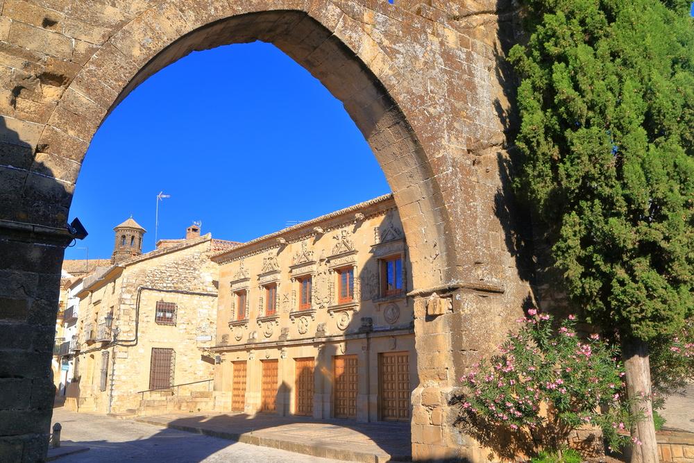 Jaen Gate in Baeza