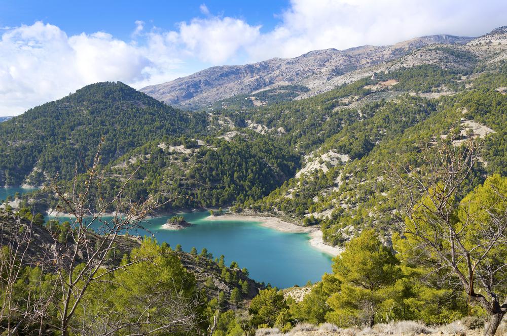 Parque natural Sierra de Castril en Granada