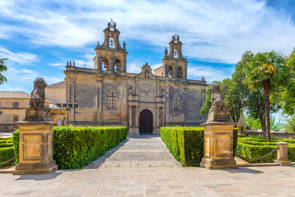 Kerk van Santa María de los Reales Alcázares in Ubeda