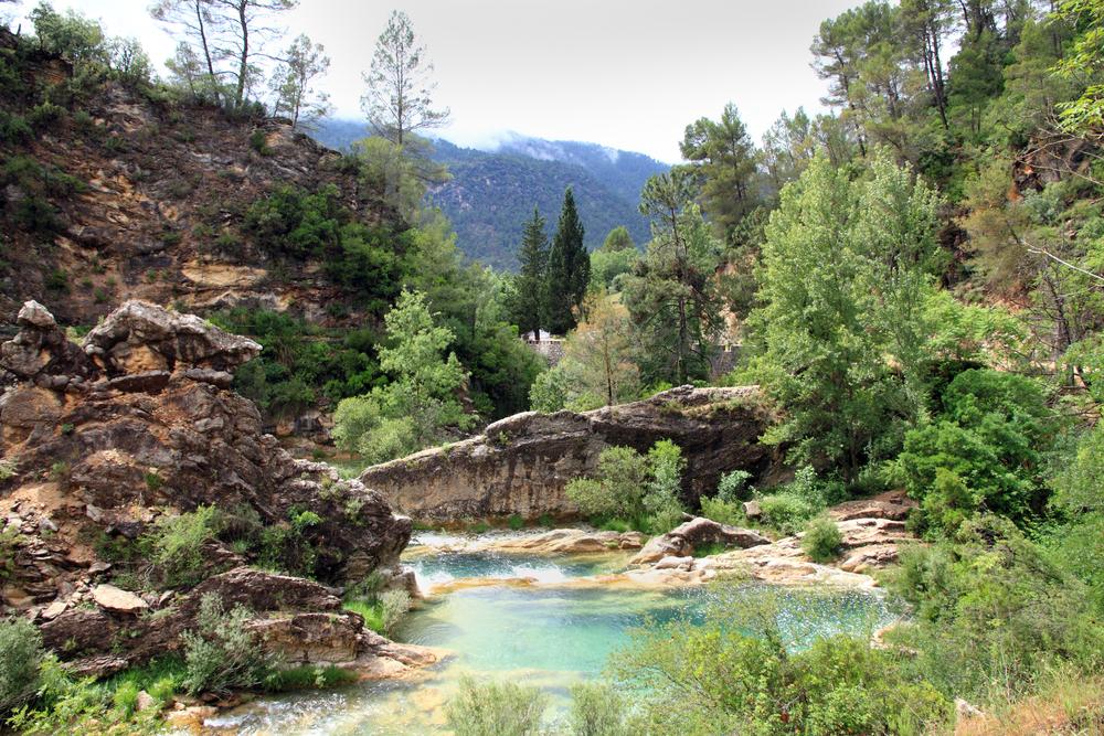 Sierra de Cazorla y Segura natuurpark in Jaen