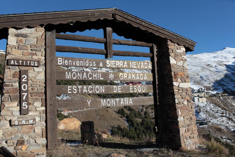 Nationaal park Sierra Nevada Granada