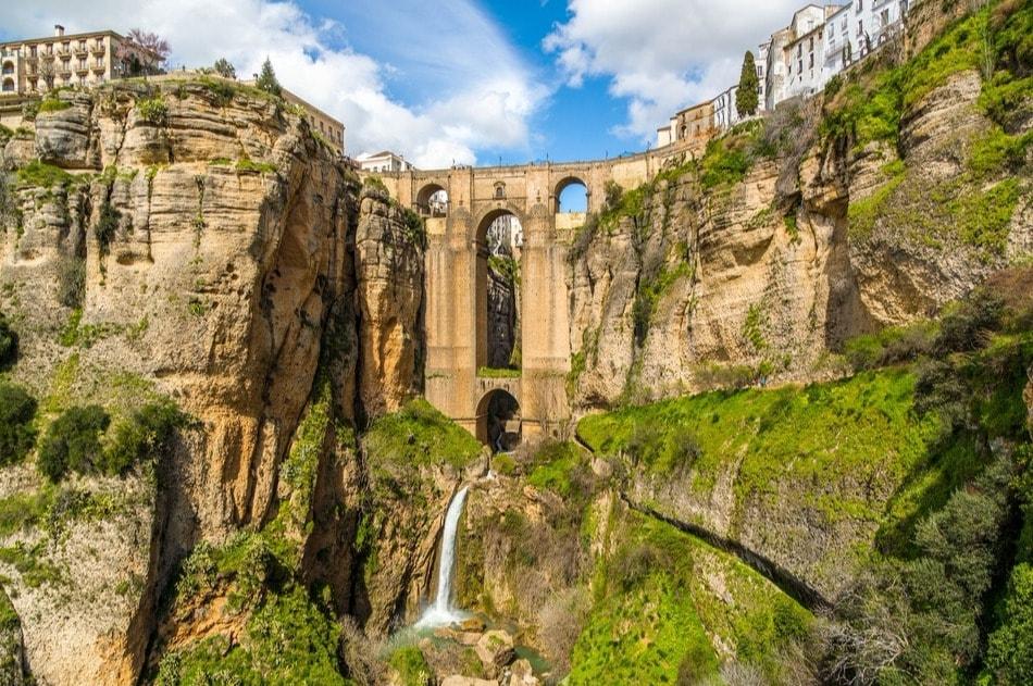 The white town of Ronda (Malaga)