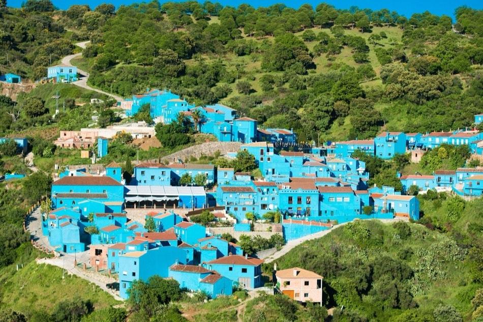 El pueblo pitufo de Júzcar (Málaga)