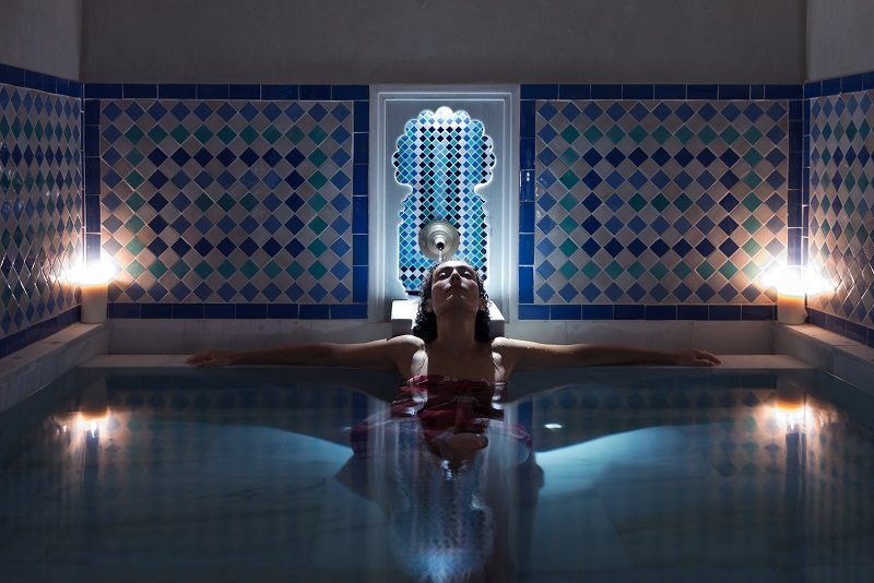 relajante sala de masaje hermoso cerca de Málaga