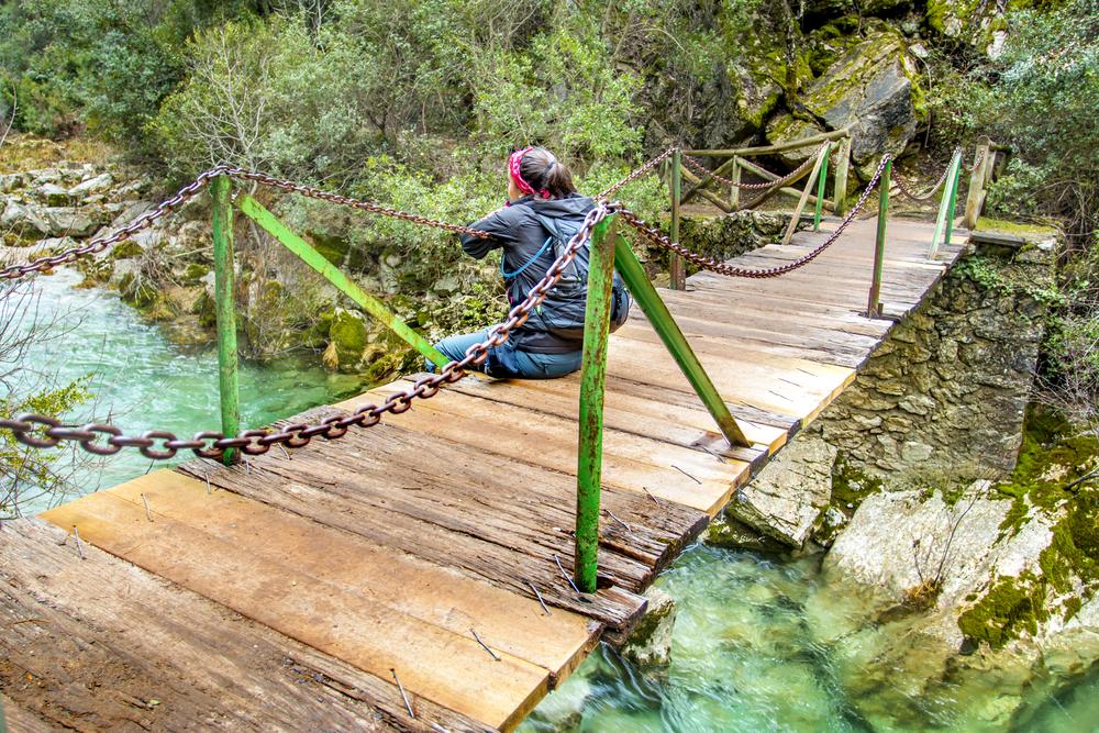 Temperaturen in natuurpark van de Sierras de Cazorla
